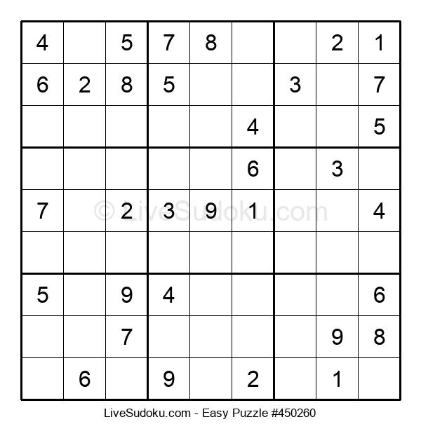 Beginners Puzzle #450260