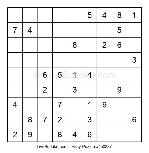 Beginners Puzzle #450337