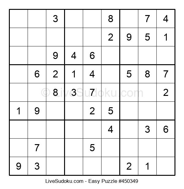 Beginners Puzzle #450349