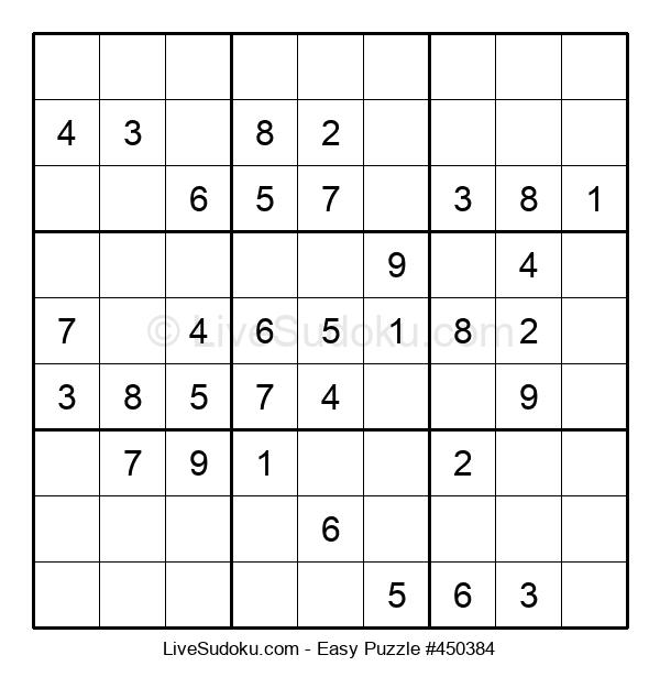 Beginners Puzzle #450384