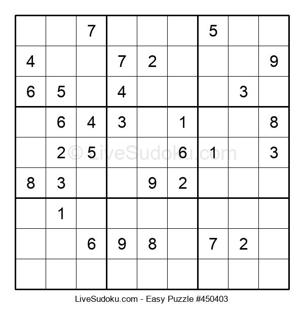 Beginners Puzzle #450403