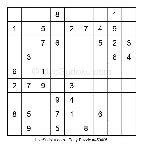 Beginners Puzzle #450405