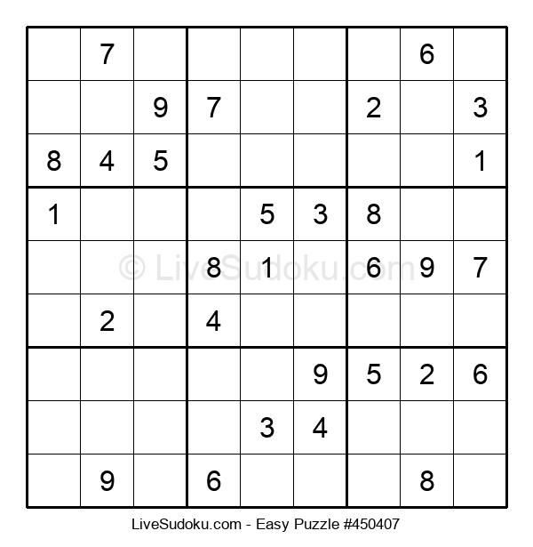 Beginners Puzzle #450407