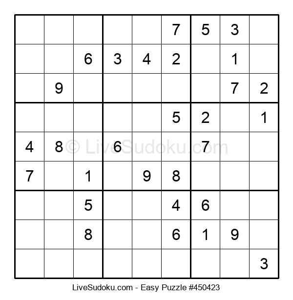 Beginners Puzzle #450423