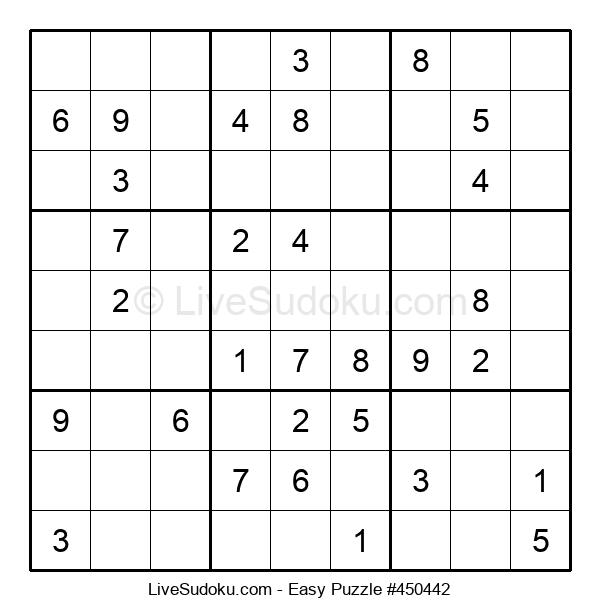 Beginners Puzzle #450442
