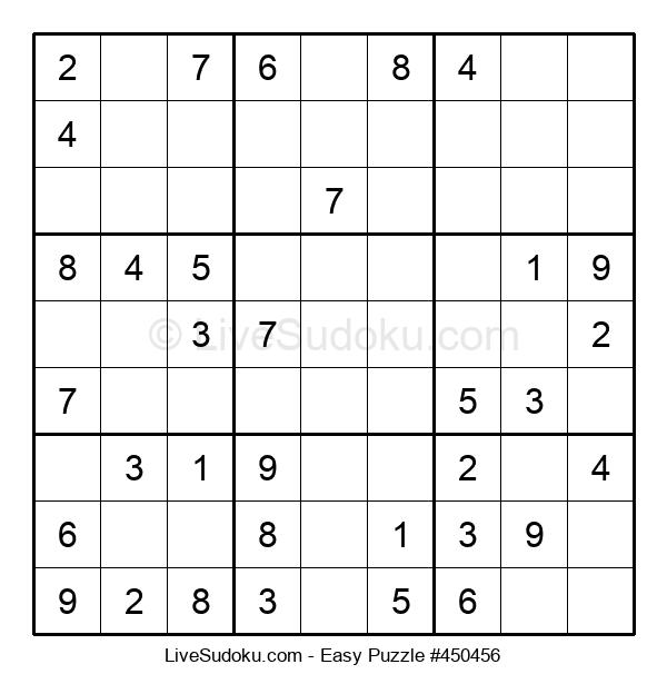 Beginners Puzzle #450456