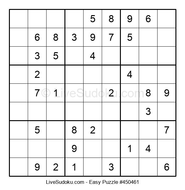 Beginners Puzzle #450461