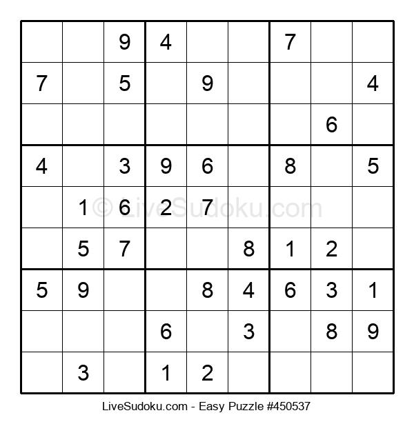 Beginners Puzzle #450537