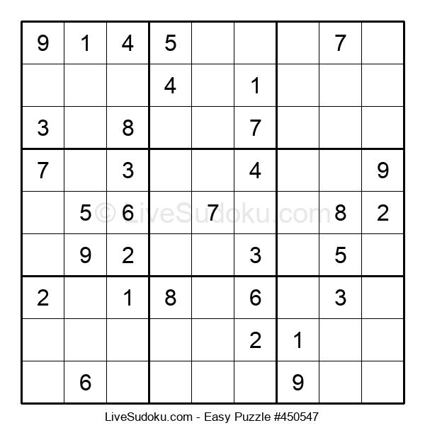 Beginners Puzzle #450547
