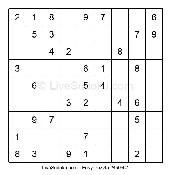 Beginners Puzzle #450567