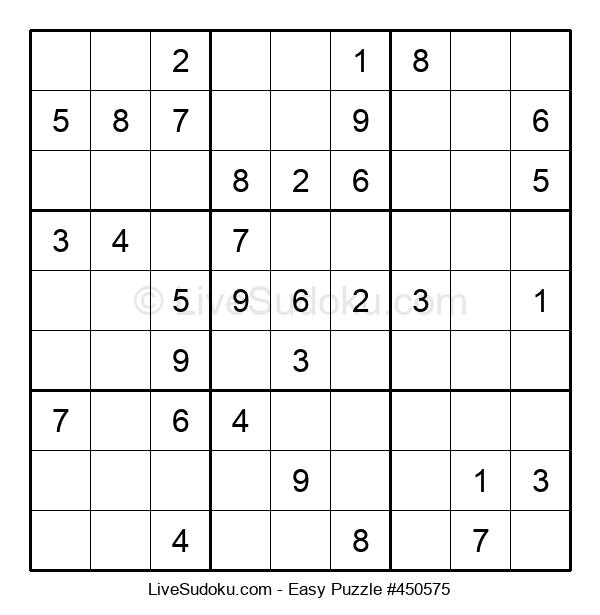Beginners Puzzle #450575