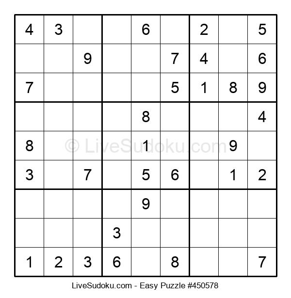 Beginners Puzzle #450578