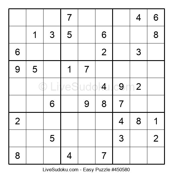 Beginners Puzzle #450580