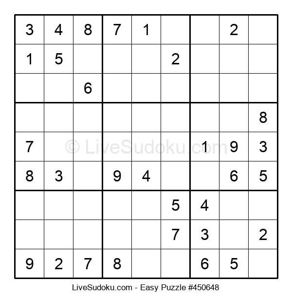 Beginners Puzzle #450648