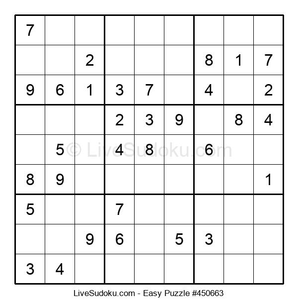 Beginners Puzzle #450663