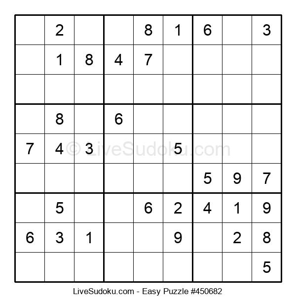 Beginners Puzzle #450682