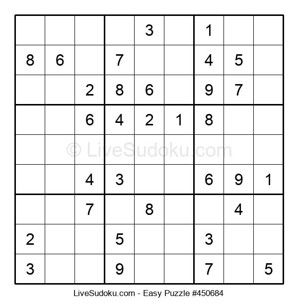 Beginners Puzzle #450684