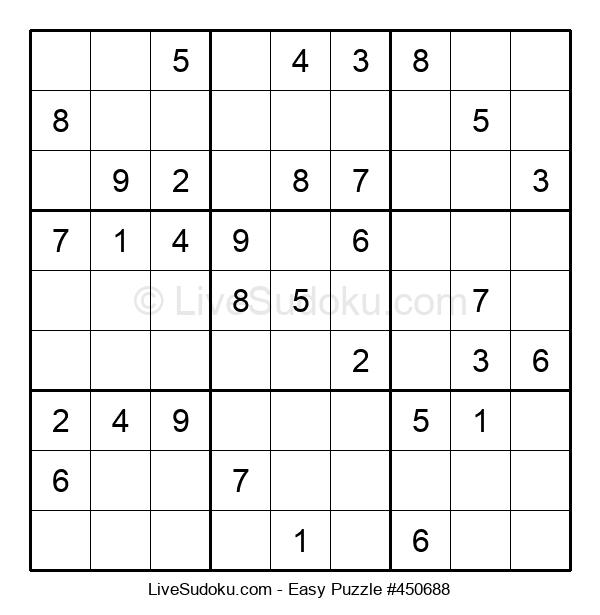 Beginners Puzzle #450688