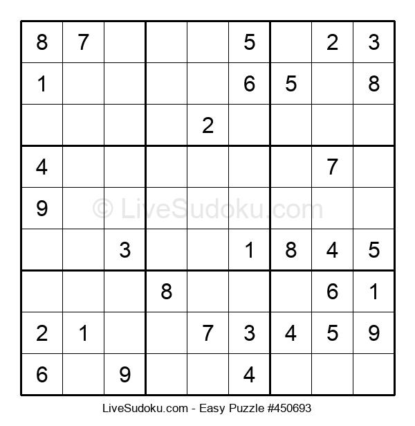 Beginners Puzzle #450693