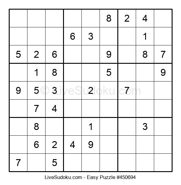 Beginners Puzzle #450694