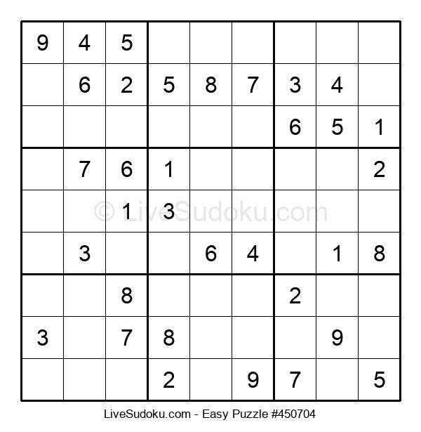 Beginners Puzzle #450704