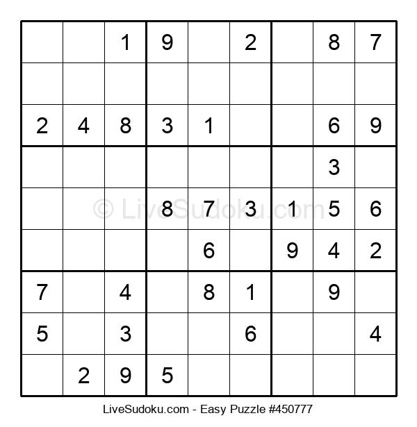 Beginners Puzzle #450777