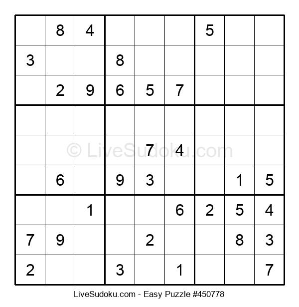 Beginners Puzzle #450778