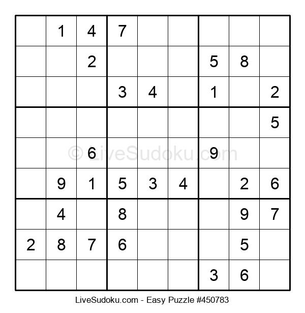 Beginners Puzzle #450783