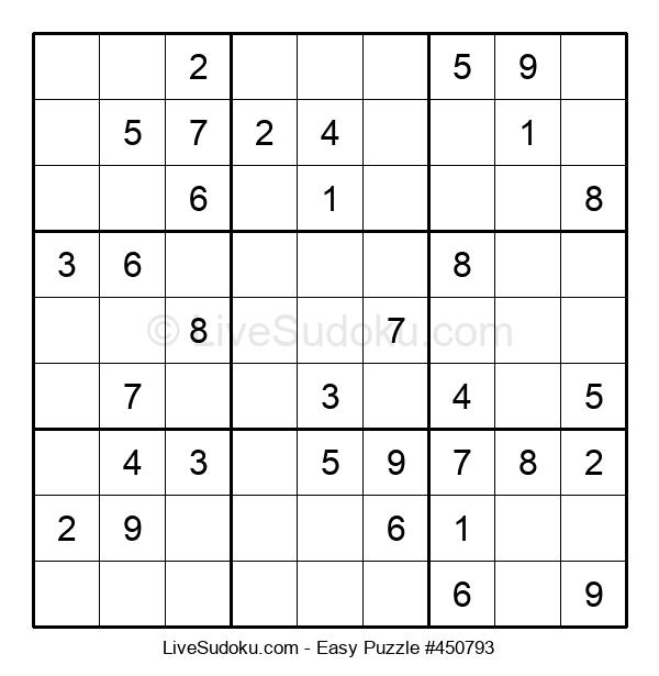 Beginners Puzzle #450793