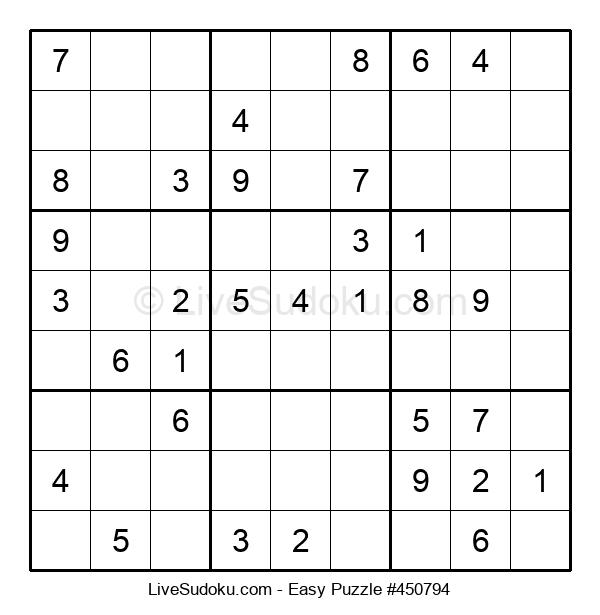 Beginners Puzzle #450794