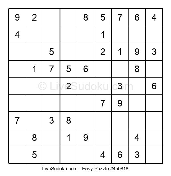 Beginners Puzzle #450818
