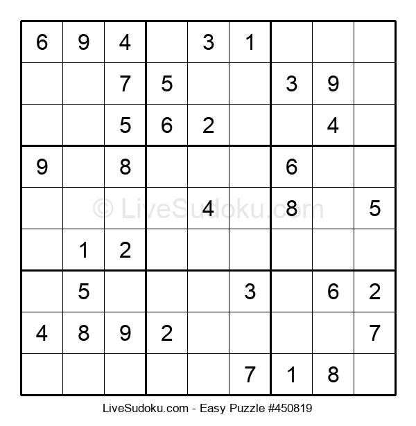 Beginners Puzzle #450819
