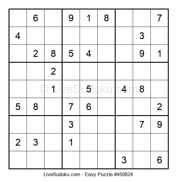 Beginners Puzzle #450824