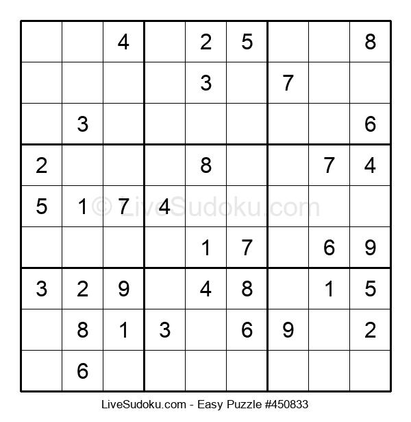 Beginners Puzzle #450833