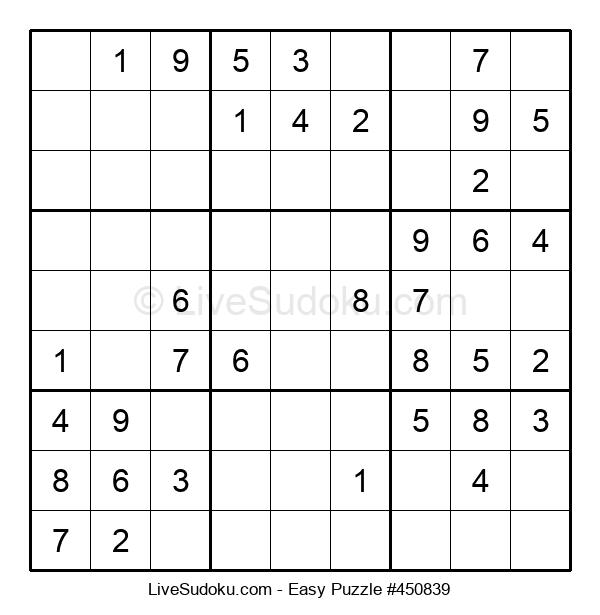 Beginners Puzzle #450839
