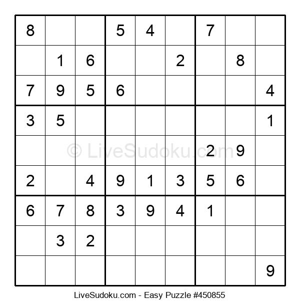 Beginners Puzzle #450855
