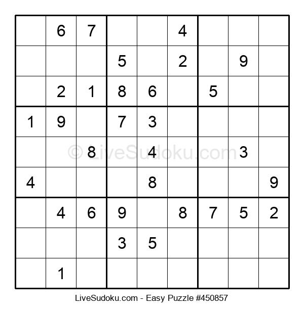 Beginners Puzzle #450857