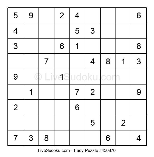 Beginners Puzzle #450870