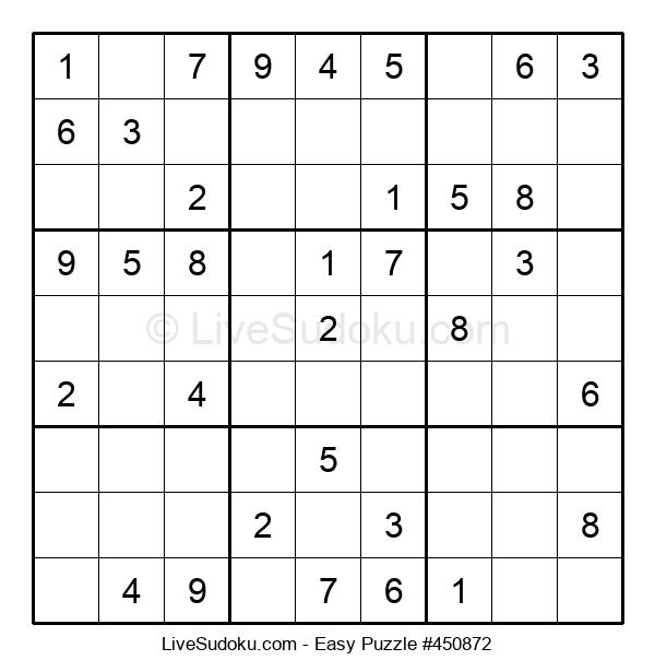 Beginners Puzzle #450872