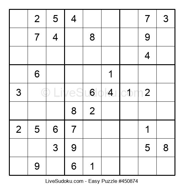 Beginners Puzzle #450874