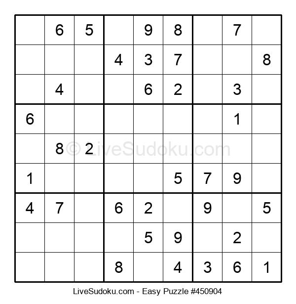 Beginners Puzzle #450904