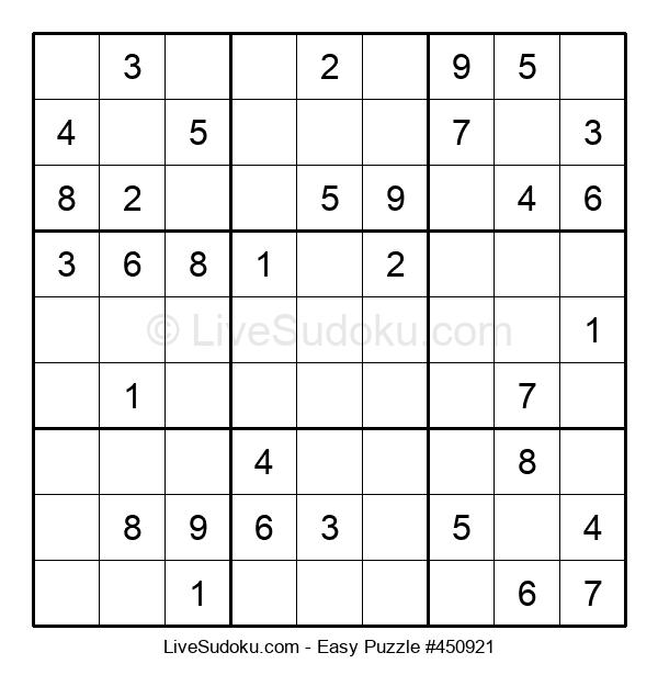 Beginners Puzzle #450921