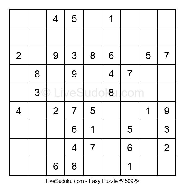 Beginners Puzzle #450929