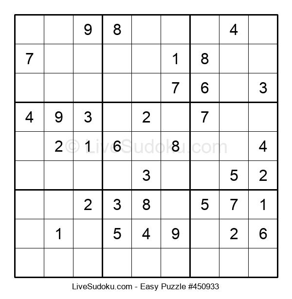Beginners Puzzle #450933