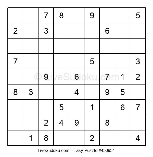Beginners Puzzle #450934