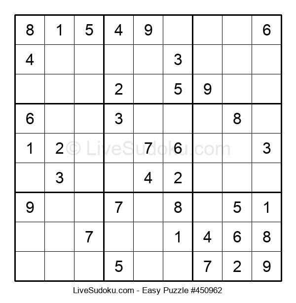 Beginners Puzzle #450962