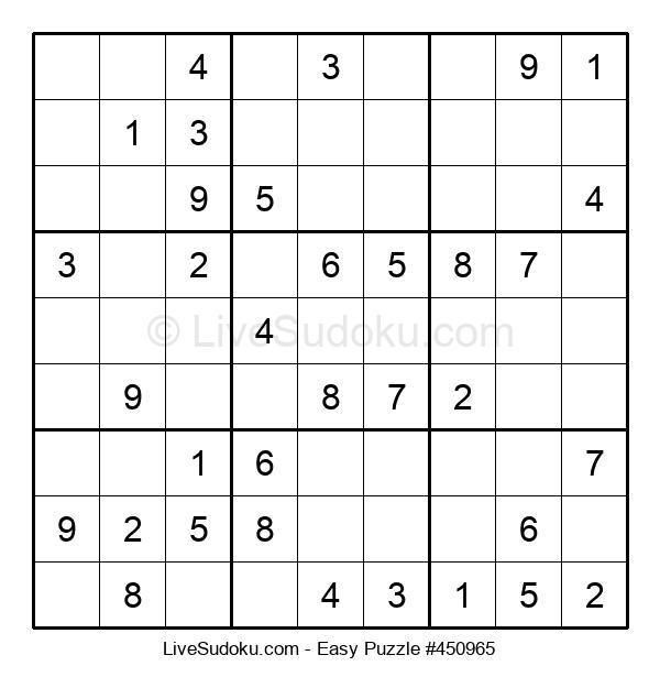 Beginners Puzzle #450965