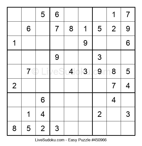 Beginners Puzzle #450966
