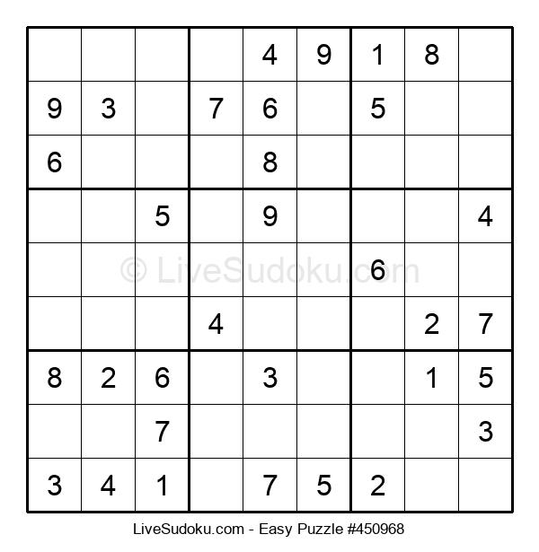 Beginners Puzzle #450968