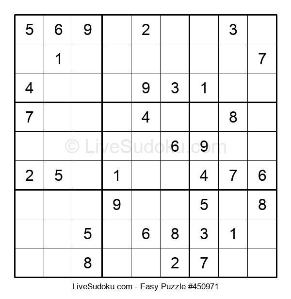 Beginners Puzzle #450971